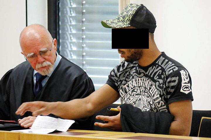 Elton F. (23) wurde am Mittwoch zu zweieinhalb Jahren Knast verurteilt.