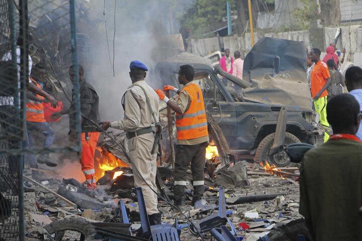 Die Explosion ereignete sich  in der Nähe eines bei Politikern und Regierungsmitarbeitern beliebten Hotels