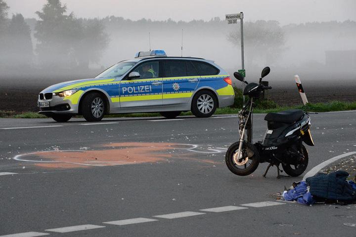 Die 16-Jährige wurde bei dem Crash schwer verletzt.