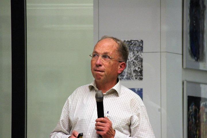 Ulrich Skaruppe (60) vom Tiefbaumamt referierte zum Radwegekonzept.