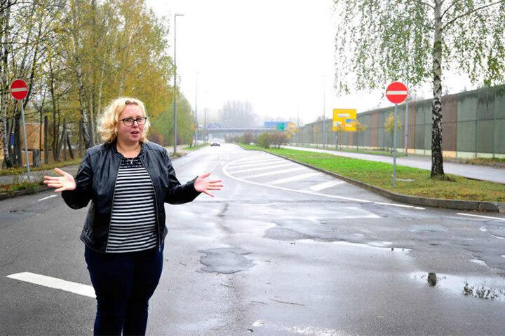 CDU-Stadträtin Solveig Kempe (36) will wissen, wann es mit dem Ausbau weitergeht.