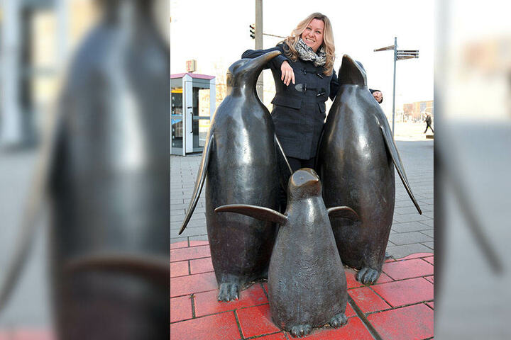 Nica Stevens (40) hofft auf den Jugendliteraturpreis.