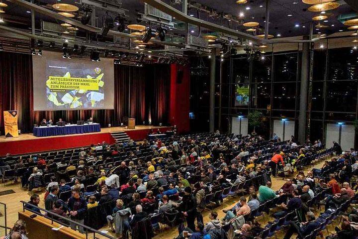 Die Mitgliederversammlung fand im Internationalen Congress Center Dresden statt.