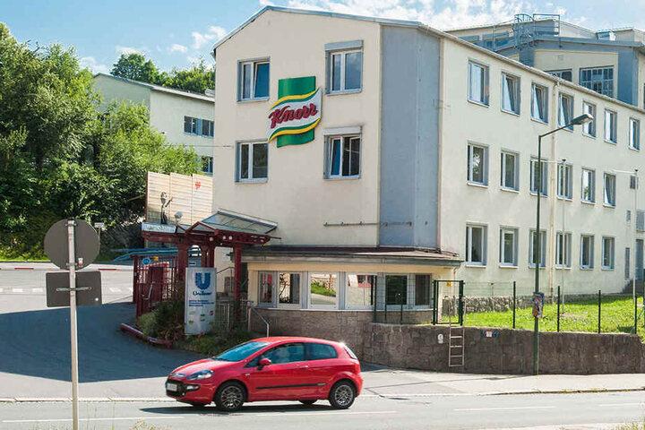 Im Auerbacher-Unilever-Werk werden unter anderem Instantsuppen für Knorr und Maggi hergestellt.