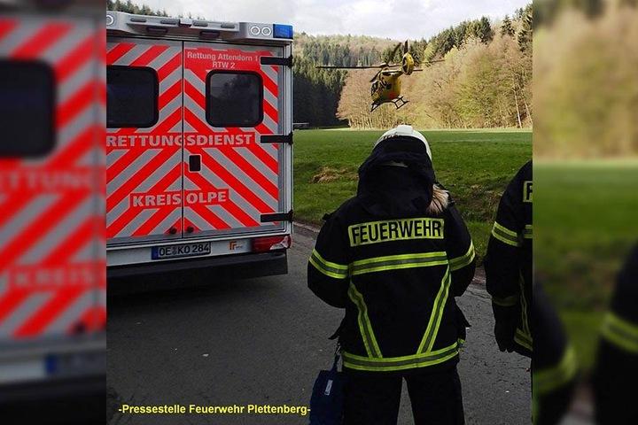 Der siebenjährige Junge wurde in ein Siegener Krankenhaus gebracht.