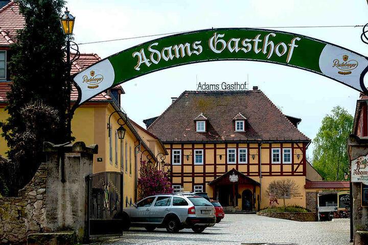 """""""Adams Gasthof"""" in Moritzburg kann auf eine über 300-jährige Schanktradition  blicken."""