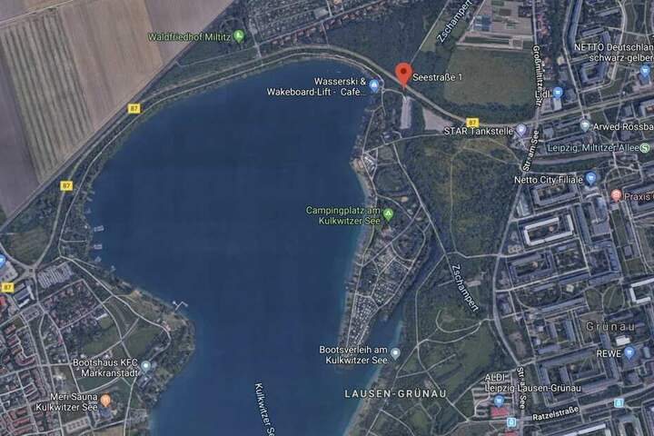 Der Kulkwitzer See liegt zwischen Markranstädt und Leipzig-Grünau.
