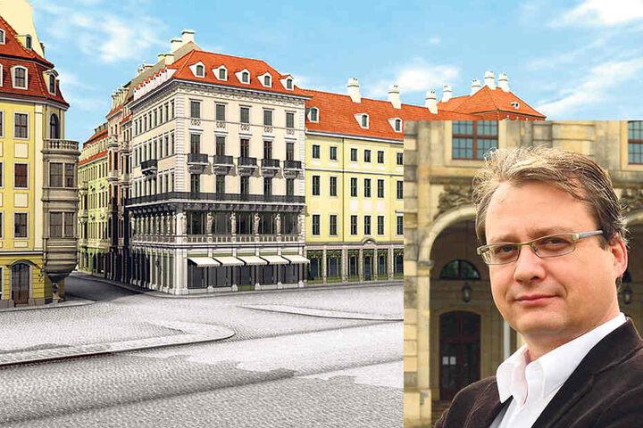 GHND-Vorstand Torsten Kulke (51) hätte sich eine Wiederaufbau des Originals  gewünscht.