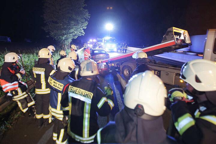 Der rumänische Trucker entfernte sich von der Unfallstelle.