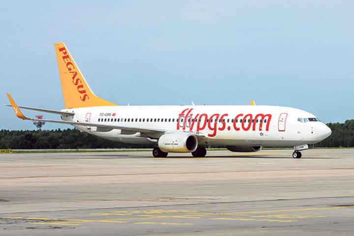 In dieser Boing-737 aus Antalya landeten am Freitag 154 überwiegend sächsische  Passagiere in Dresden.