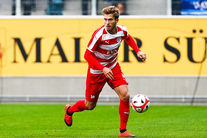 """Auch auf Nordhausens zweiten Mittelstürmer Florian Beil (wettbewerbsübergreifend 35 Spiele,acht Tore, vier Vorlagen) muss Aue trotz dessen """"nur"""" solider Torquote aufpassen."""