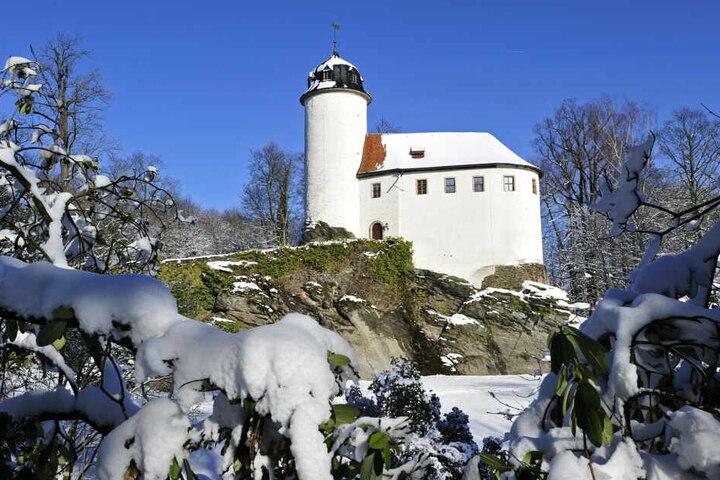 Die Burg Rabenstein.
