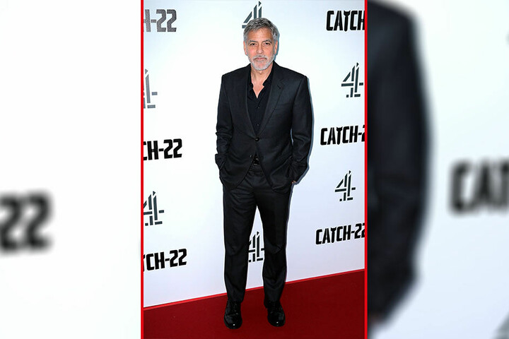 Das Original: George Clooney (58) bei einer Premiere in London.