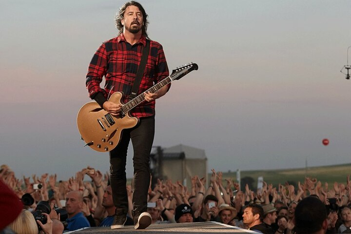 Dave Grohl, Frontmann der Foo Fighters.