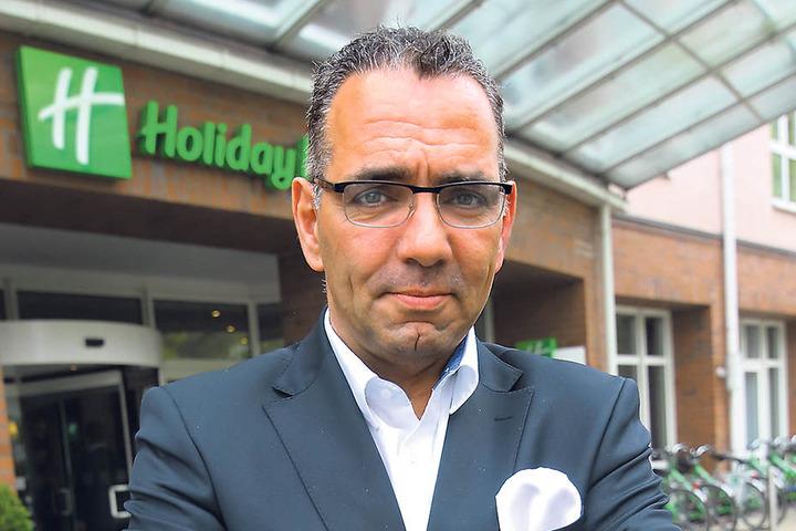 Johannes Lohmeyer, Chef des Tourismusverbandes Dresden, kritisiert die Pöbler  als hochgradig peinlich.