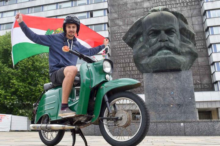 Das große Ziel: Budapest. Hier wird Johannes sein Auslandssemester verbringen.