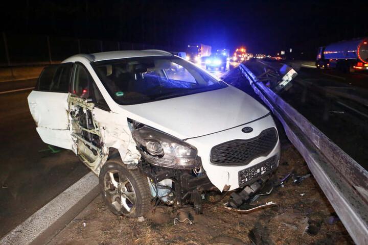 Insgesamt wurde fünf Menschen verletzt.
