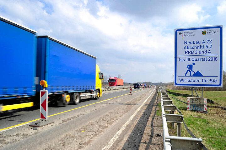 Die Vorbereitungen für den letzten Abschnitt laufen bereits - es wird viele Behinderungen für Autofahrer geben. Die B95 soll in Betrieb bleiben.