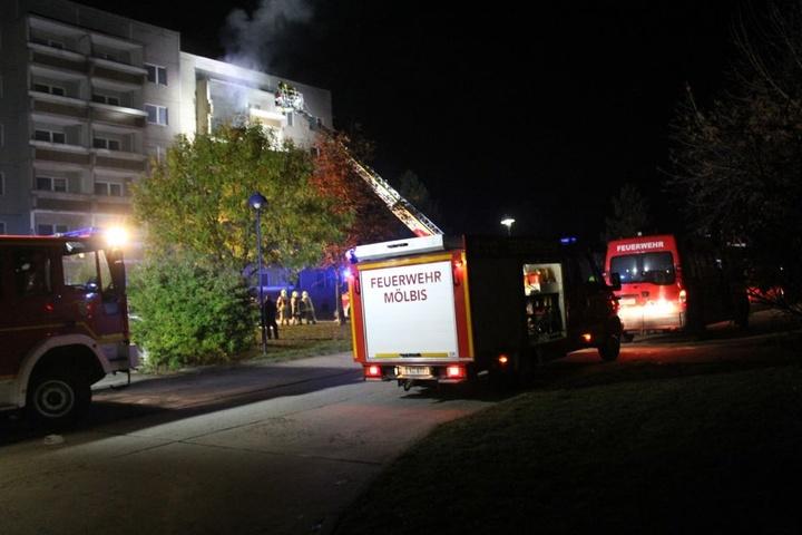 Die Wohnung brannte komplett aus.