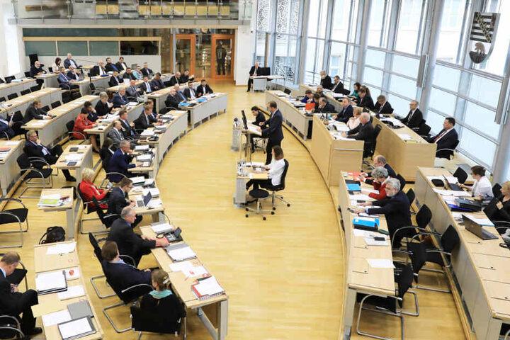 Am Donnerstag hielt der Landtag Sachsen-Anhalts ein Plenum ab.