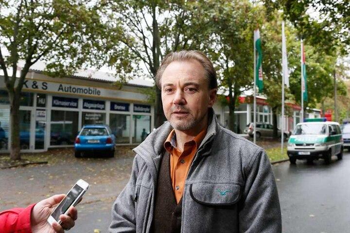LKA-Sprecher und Kriminalhauptkommissar Tom Bernhardt (47).