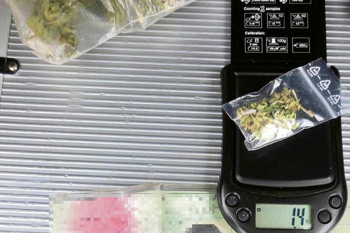 Gleich mehrere Drogenfunde machten die Beamten in Sohland und Zittau.