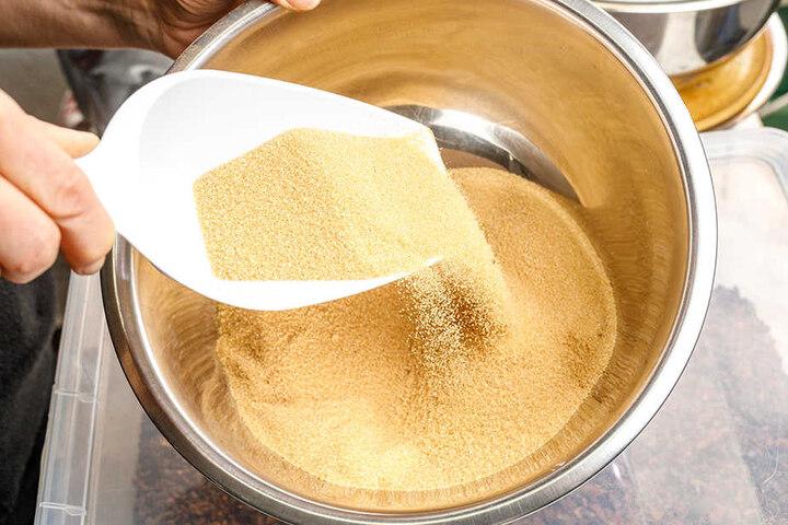 Schadet auch den Zähnen nicht: Als natürlicher Zuckerersatz dient Birkenzucker.