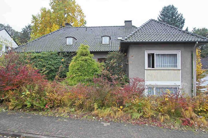 Objekt der Begierde: Das 1954 gebaute Haus in der Lutherstraße in Herford.