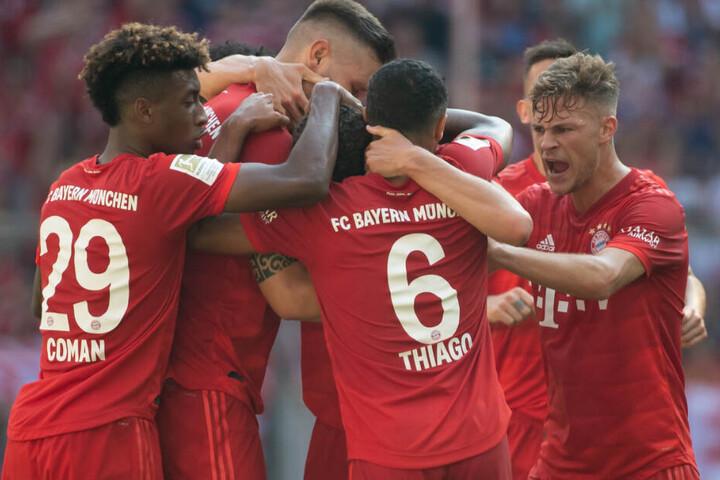 Der FC Bayern ließ dem 1. FSV Mainz 05 in der Allianz Arena in München letztlich keine Chance.