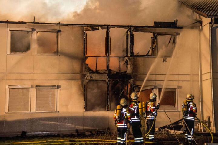Das Gebäude ist teils einsturzgefährdet, der Schaden beträgt rund 450.000 Euro.