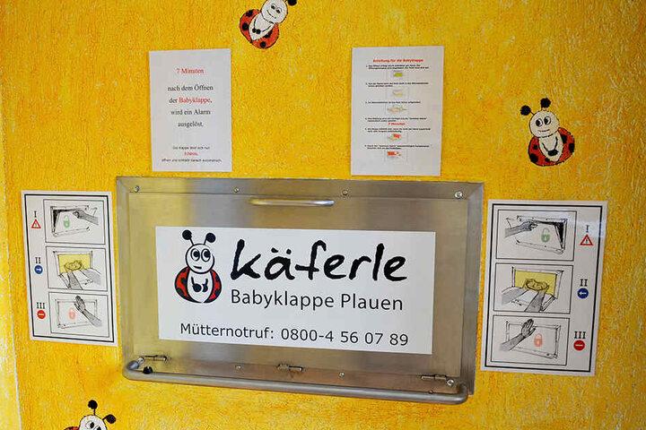 Die Babyklappe in Plauen rettete bisher neun Kleinkindern das Leben.