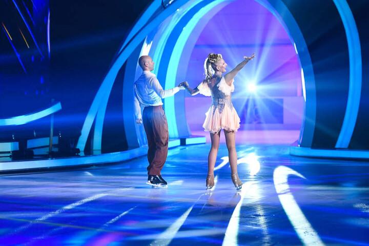 """Désirée Nick und ihr Tanzpartner Alexander Gazsi kehren noch einmal zu """"Dancing on Ice"""" zurück."""