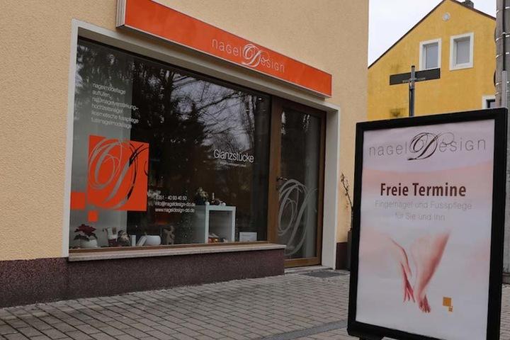 Dieses Nagelstudio auf der Meußlitzer Straße hatte der Täter im Visier.
