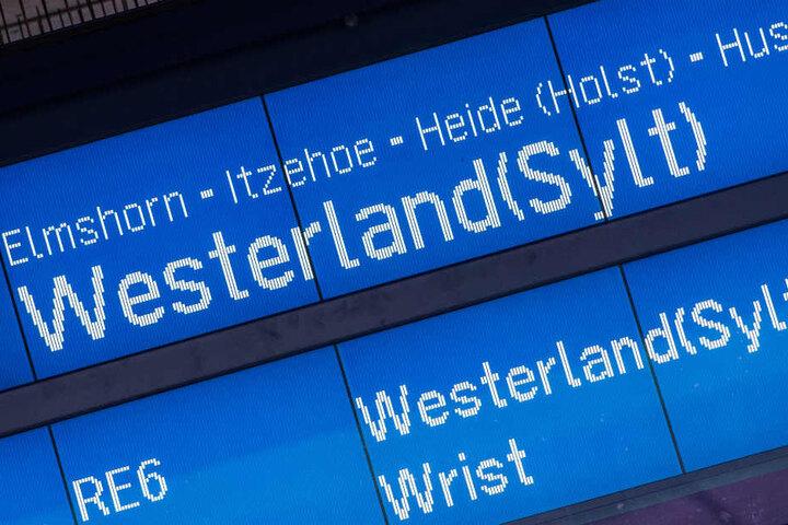 Auf der Strecke von Hamburg nach Sylt gibt es immer wieder Probleme.