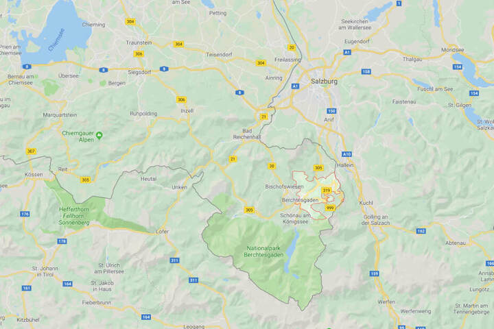 In Berchtesgaden in Bayern hatte eine Frau die Ermordung ihres Ehemannes gemeldet.