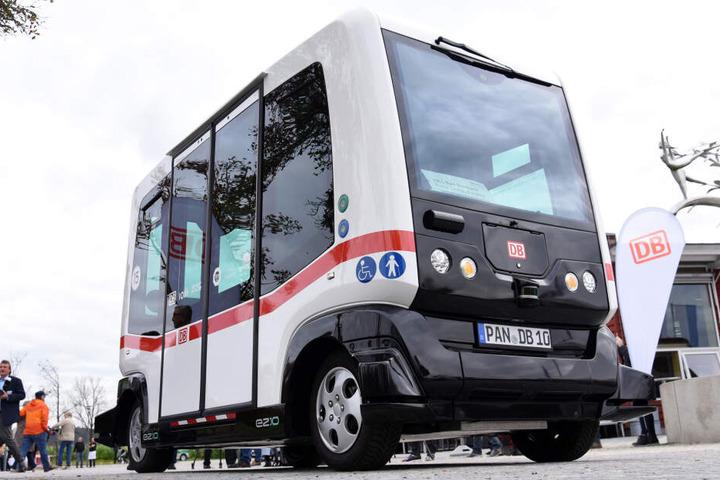 In anderen Bundesländern sind die selbständig fahrenden Busse bereits im Einsatz. (Symbolbild)