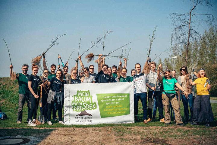 """Jeder kann mithelfen oder mitmachen: Die umweltfreundliche Initiative ruft zur """"Größten Baumpflanz-Aktion Deutschlands"""" auf."""