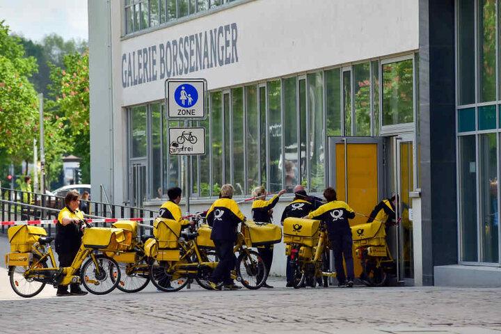 Sperrung nach Polizeieinsatz im Finanzamt aufgehoben