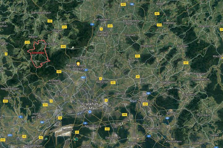 Die Tat ereignete sich in einem Waldgebiet bei Schmitten im Hochtaunus-Kreis.
