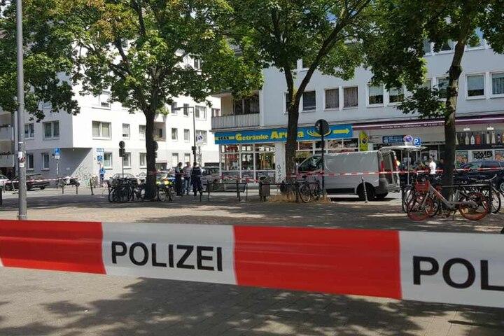 Laut Polizei sei die Festnahme eskaliert und die Polizei hatte auf den Mann geschossen.