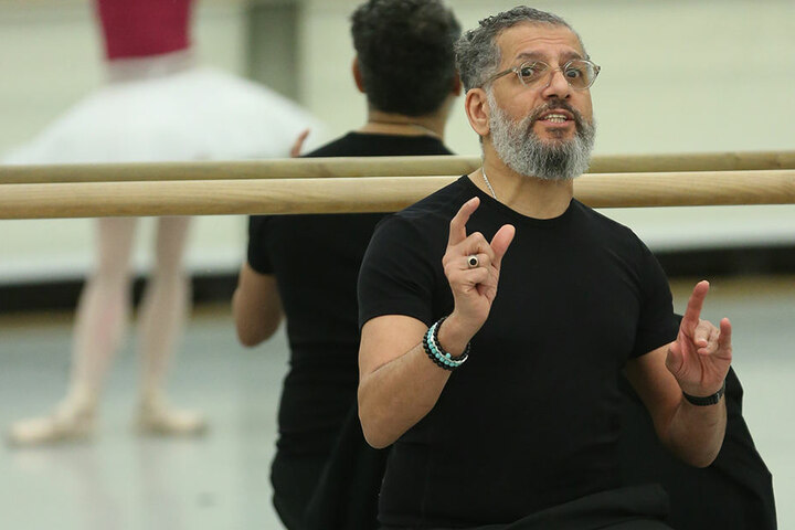 Der Erste Ballettmeister Gamal Gouda.