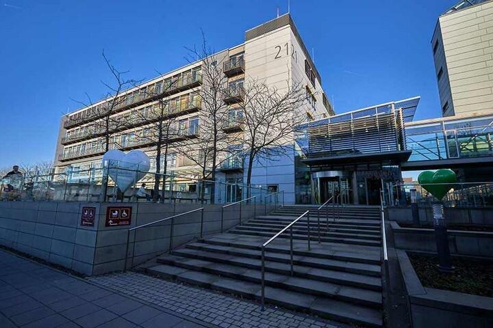 Das Zentrum für seltene Krankheiten befindet sich in Haus 21 der Uniklinik Dresden.