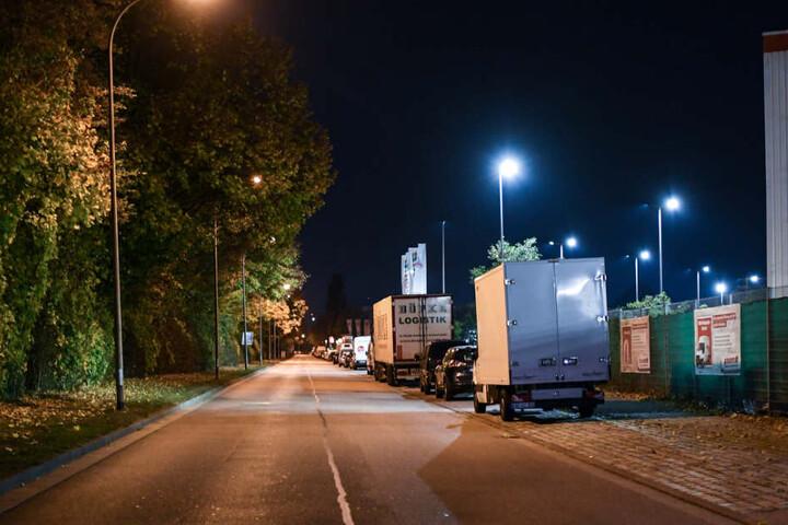In der Nähe des Tatorts der Horror-Vergewaltigung in Freiburg.