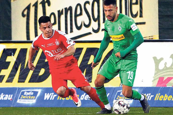 Manolo Rodas (l.) ist bei Kickers Offenbach im Gespräch.