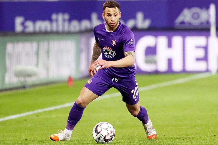 Am Freitag entscheidet sich, ob Calogero Rizzuto beim FC Erzgebirge Aue bleibt oder nicht.