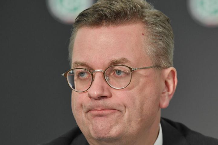 Am Dienstag trat Reinhard Grindel als DFB-Präsident zurück.