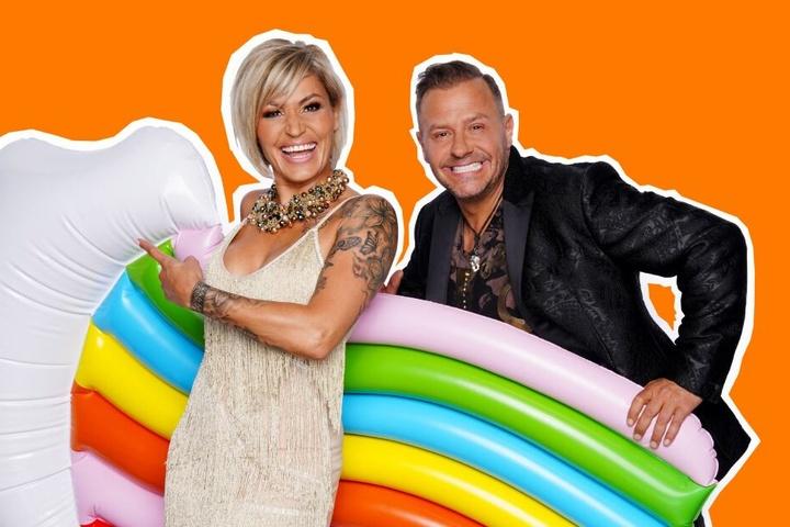 """Die Herrens waren diesen Sommer im RTL-""""Sommerhaus der Stars""""."""