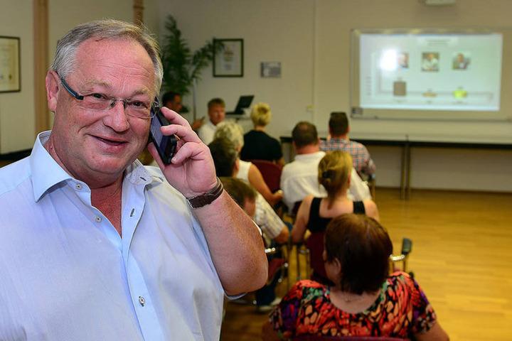 Der alte ist der neue Bürgermeister: Thomas Firmenich.