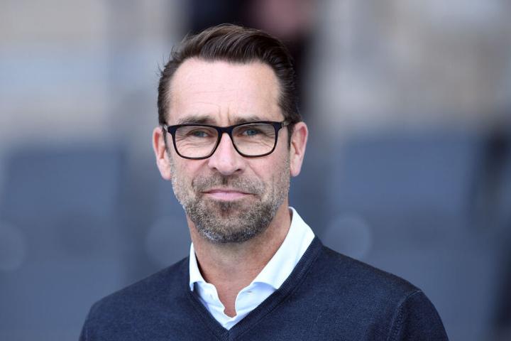 Herthas Manager Michael Preetz ist auch bereit, über ein mögliches neues Stadion in Tegel zu diskutieren.