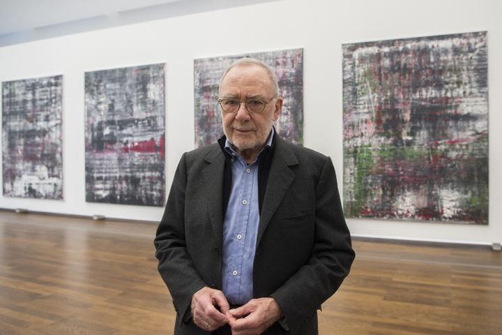 Der Maler Gerhard Richter wird für sein Lebenswerk ausgezeichnet.